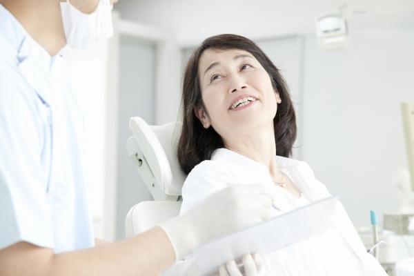治療には、患者様の協力が不可欠。